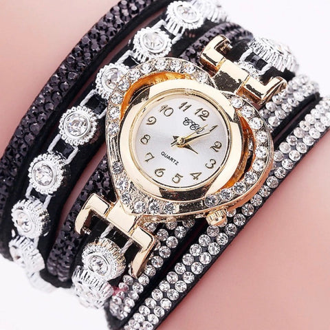 Fashion Luxury Rhinestone Bracelet Watch