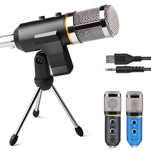 Professional Microphone USB Condenser Microphone for Video Recording
