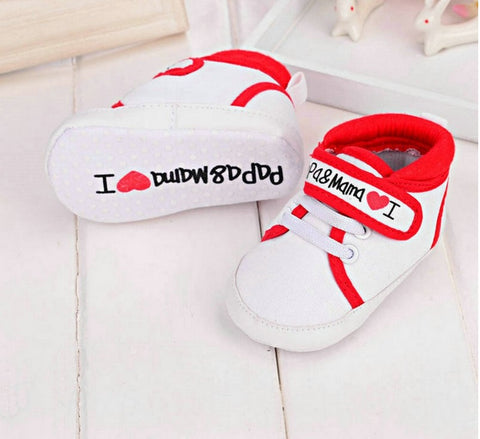 Baby Love Shoes Soft Sole Canvas Sneaker