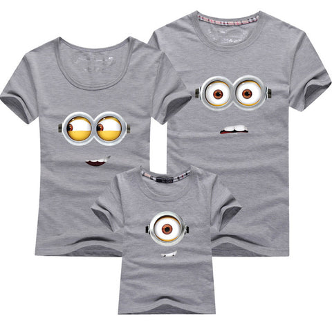 Family Matching Outfits Minions Family T-Shirts