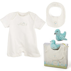 3-Piece Kiddo Romper Gift Set