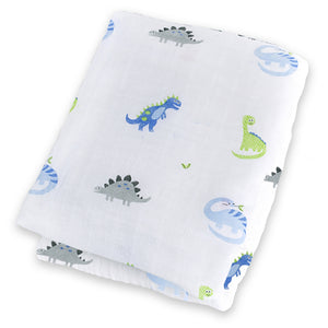 Prehistoric Pals Cotton Swaddle