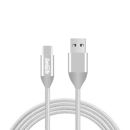 Type-C to USB C Cable Nylon braiding Fast charger 2 pack