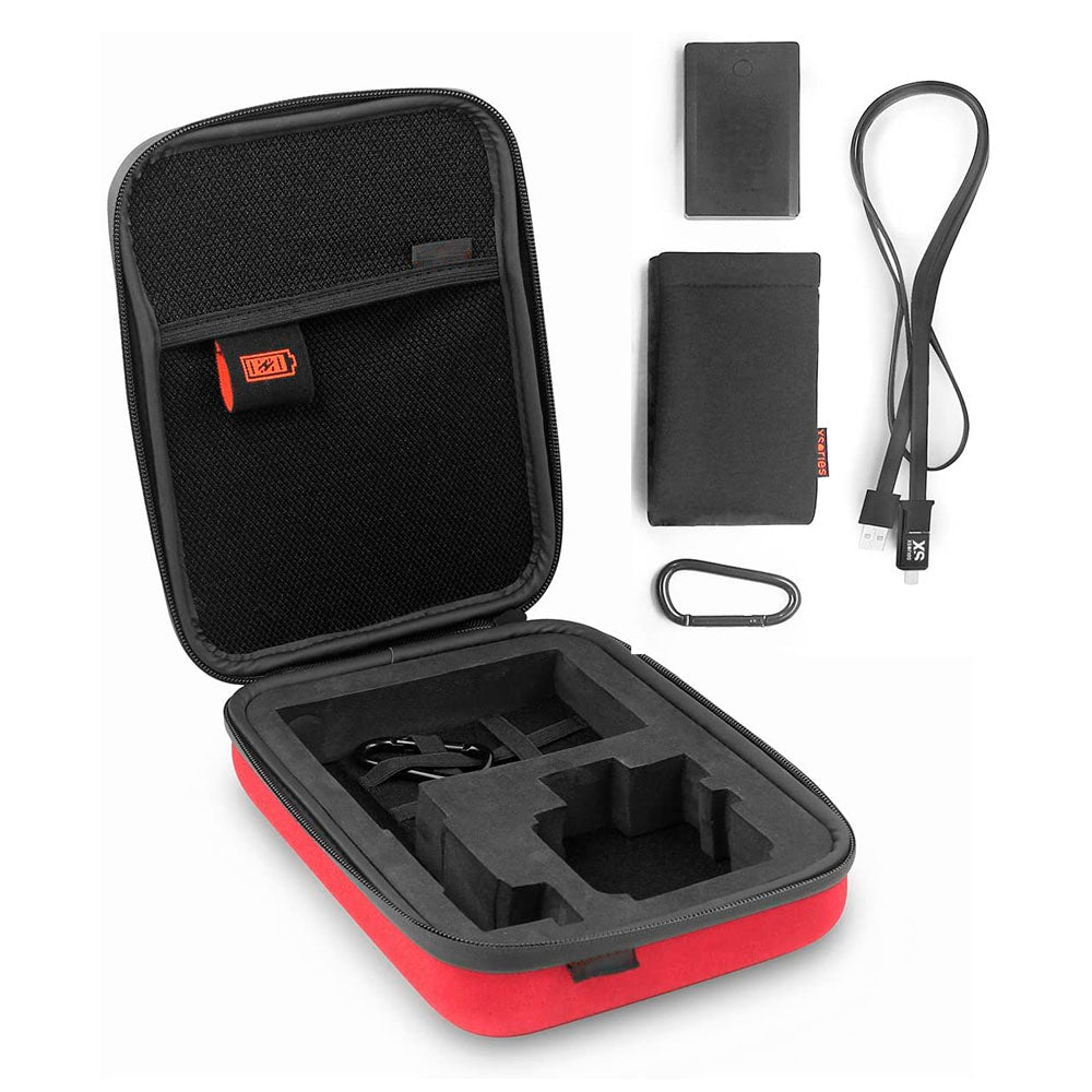 Small Power Capxule GoPro Storage Case, 2800mAh Powerbank