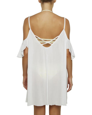 Beach Dress - White
