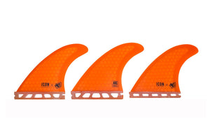 Icon Arc Small Fins - Orange