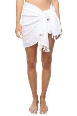 White Waves Sarong