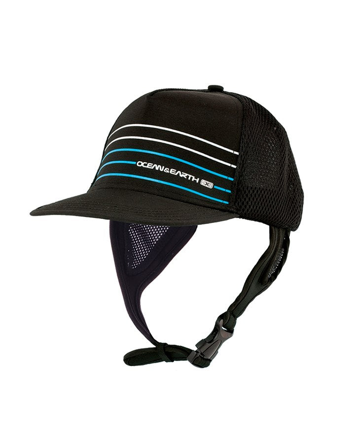 Mens Kuta Mesh Trucker Hat - Blue
