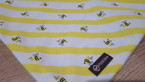 Busy Bee Dog Bandana - Pebblina