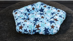 Blue Starry Night Dog Teepee Tent - Pebblina