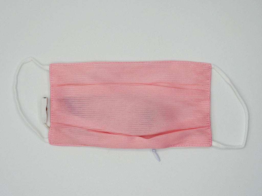 LED Color Changing Luminous Fiber Optic Surgical Half Mask with Replaceable filter
