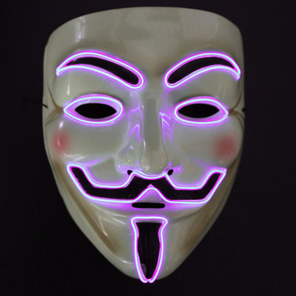 V For Vendetta LED Lighted Mask
