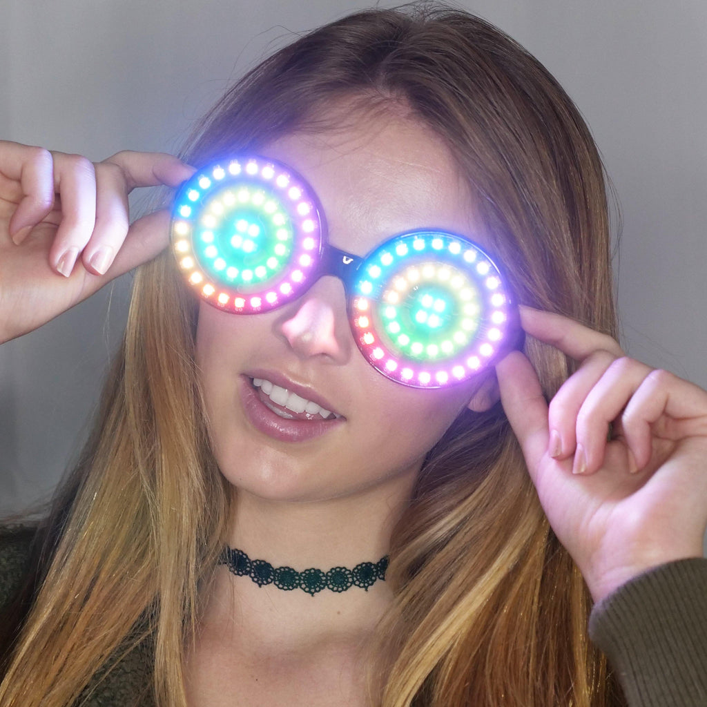 NEW Programmable Color Changing Glasses