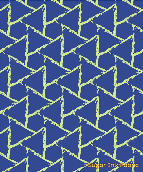Triangle Coordinate - Blue Green