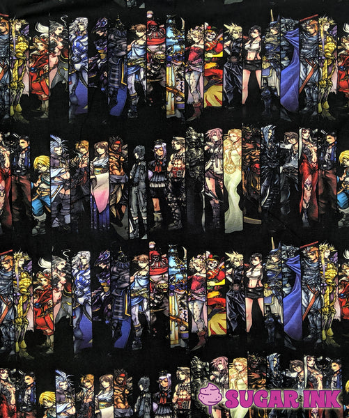 Final Fantasy: Stripes (Large Scale)
