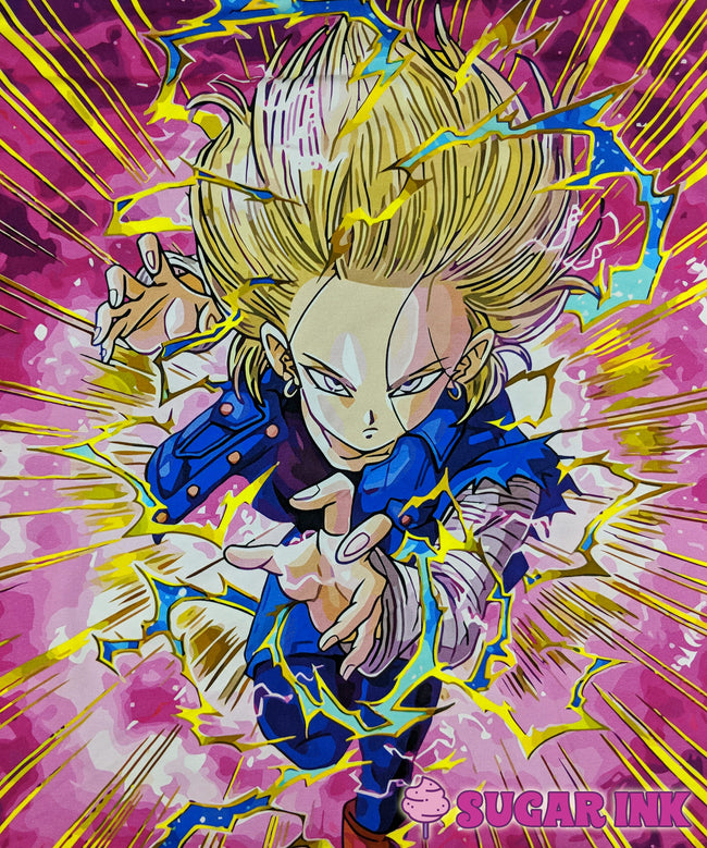 Just Saiyan Panel (Android 18)