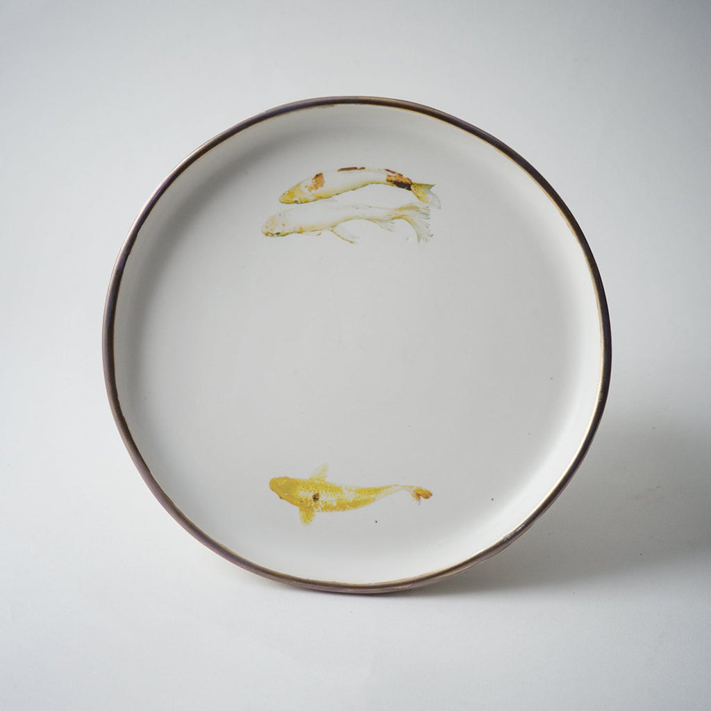 KOI FISH PLATE- MEDIUM SIZE