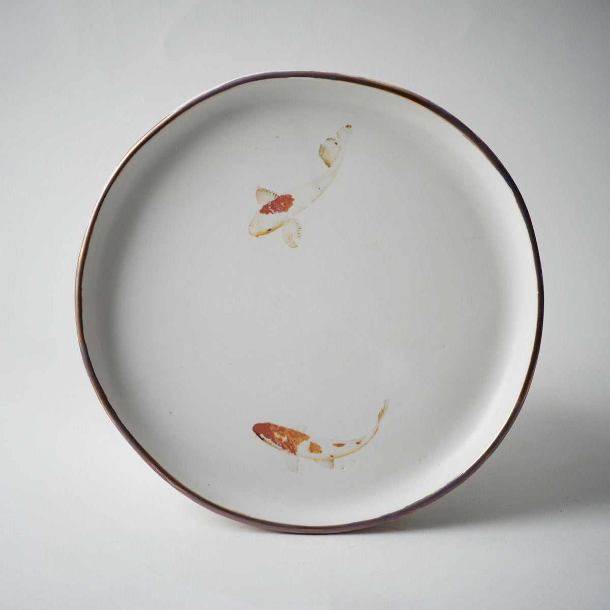 KOI FISH PLATE- medium