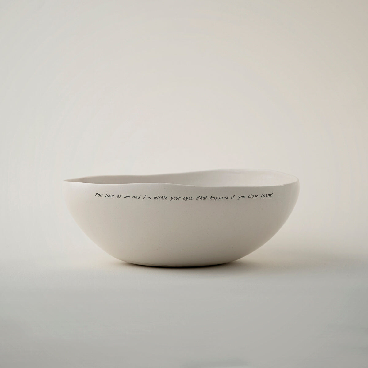 White bowl Summer