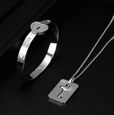 Love-Lock Bracelet & Necklace