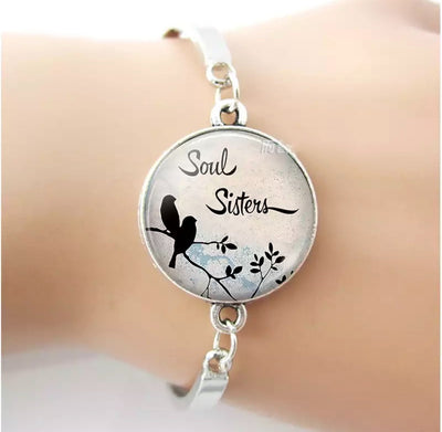 Soul Sisters Silver Plated Bracelet