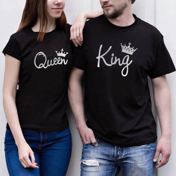 King-Queen Couple Tshirts