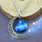 Glass Galaxy Necklace