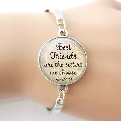 Best Friends Silver Plated Bracelet