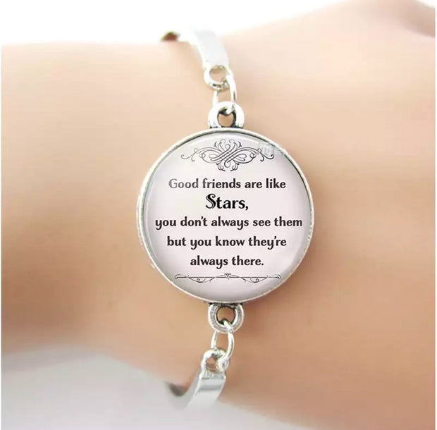 Good Friends Silver Plated Bracelet