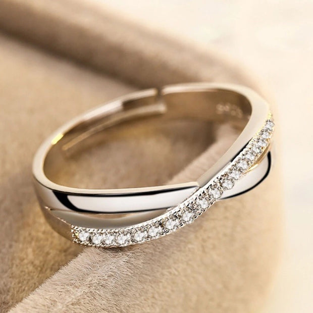Stylish Criss Cross Ring