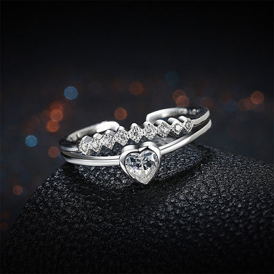 Stunning Cupid Heart Ring