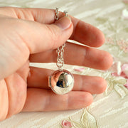 Secret Message Ball Locket