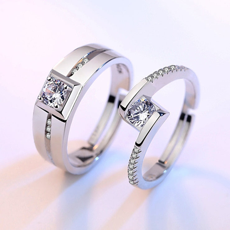 Couple Promise Rings