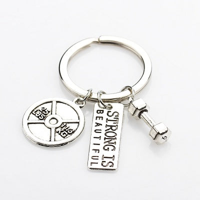Strong is Beautiful Keychain