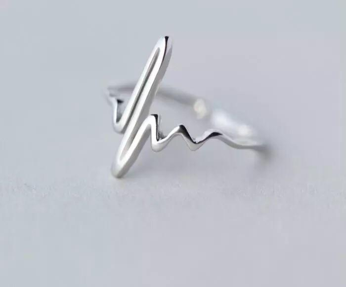 Vintage Heart Beat Ring