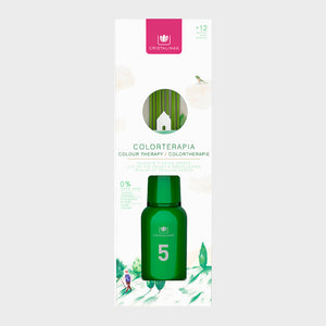 Cristalinas Colortherapy 125ml Green (No.5) - Lily Of The Valley & Green Leaves