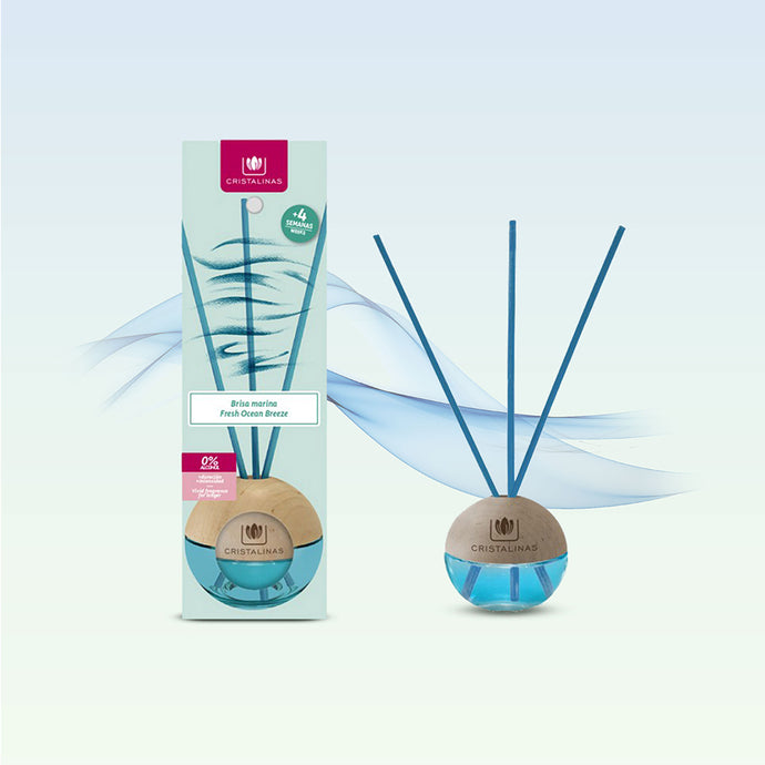 Cristalinas Sphere - Reed Diffuser 20ml - Ocean Breeze