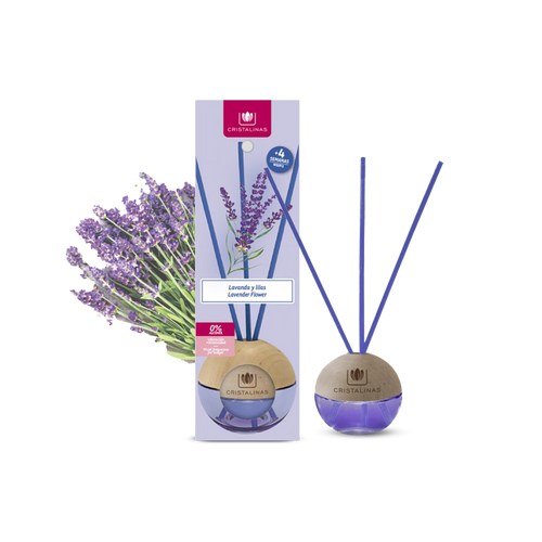 Cristalinas Sphere - Reed Diffuser 20ml - Lavender