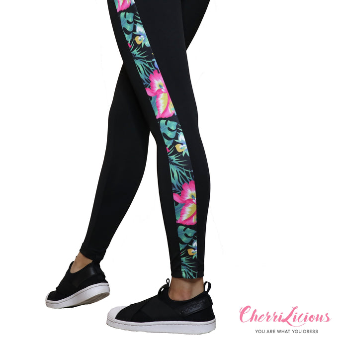 Sports / Yoga Pants </br> CHERRILICIOUS 花花運動褲 - You Are What You Dress