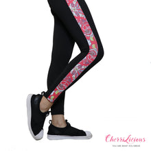 Sports / Yoga Pants </br> CHERRILICIOUS 紅色花運動褲 - You Are What You Dress