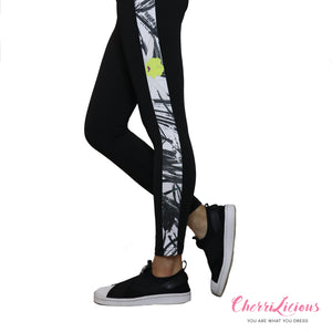 Sports / Yoga Pants </br> CHERRILICIOUS 黑白紋運動褲 - You Are What You Dress