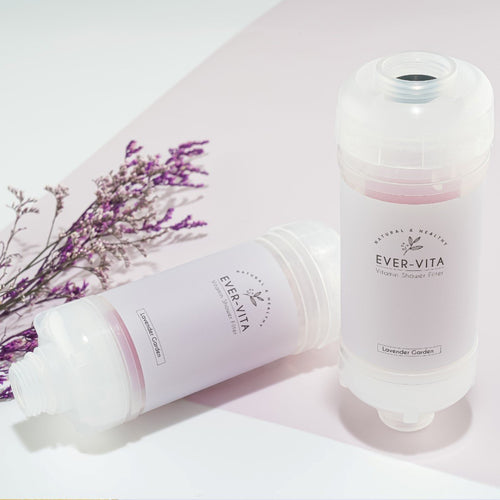 【Ever-Vita】維他命C香薰花灑濾芯 Aroma Shower Filter (薰衣草味 Lavender Garden) - You Are What You Dress