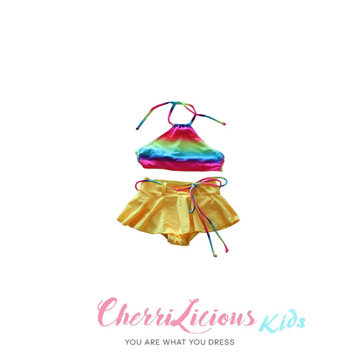 【SPECIAL!!! 】Swimwear for KIDS! </br> 彩虹裙仔比堅尼 (3-5 years old) - You Are What You Dress
