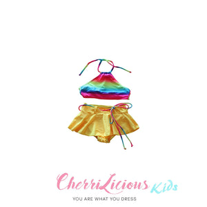 【SPECIAL!!! 】Swimwear for KIDS! </br> 彩虹裙仔比堅尼 (3-5 years old)