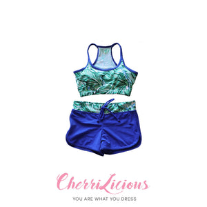 Water Sports Top & Pants Set </br> 水上運動背心短褲套裝 - You Are What You Dress