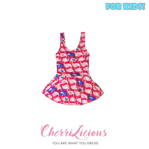 【SPECIAL!!! 】Swimwear for KIDS! </br> 粉紅天鵝女生泳裝  (1-2 years old) - You Are What You Dress