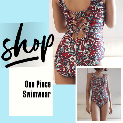 One Piece Swimwear </br> 背面縛帶連體泳裝 - You Are What You Dress