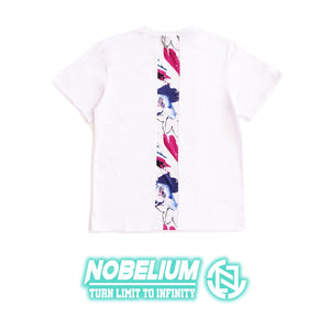 【Nobelium】自家品牌拼布Tee (紅藍彩白) - You Are What You Dress