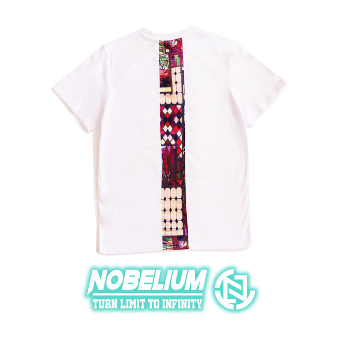 【Nobelium】自家品牌拼布Tee (紫迷凌格) - You Are What You Dress