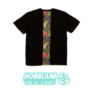 【Nobelium】自家品牌拼布Tee (藍底紅花) - You Are What You Dress